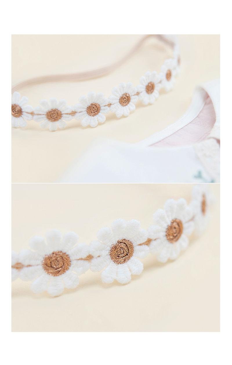 HAPPY PRINCE - Korean Children Fashion - #Kfashion4kids - Flower Lover Baby Hairband [set of 5] - 5