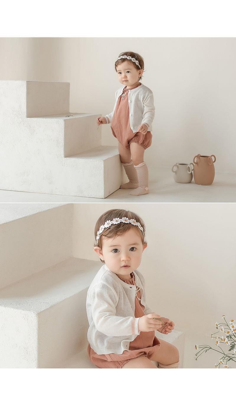 HAPPY PRINCE - Korean Children Fashion - #Kfashion4kids - Flower Lover Baby Hairband [set of 5] - 6