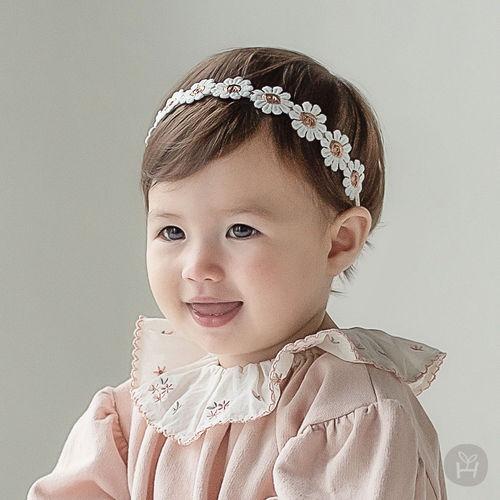 HAPPY PRINCE - BRAND - Korean Children Fashion - #Kfashion4kids - Flower Lover Baby Hairband [set of 5]