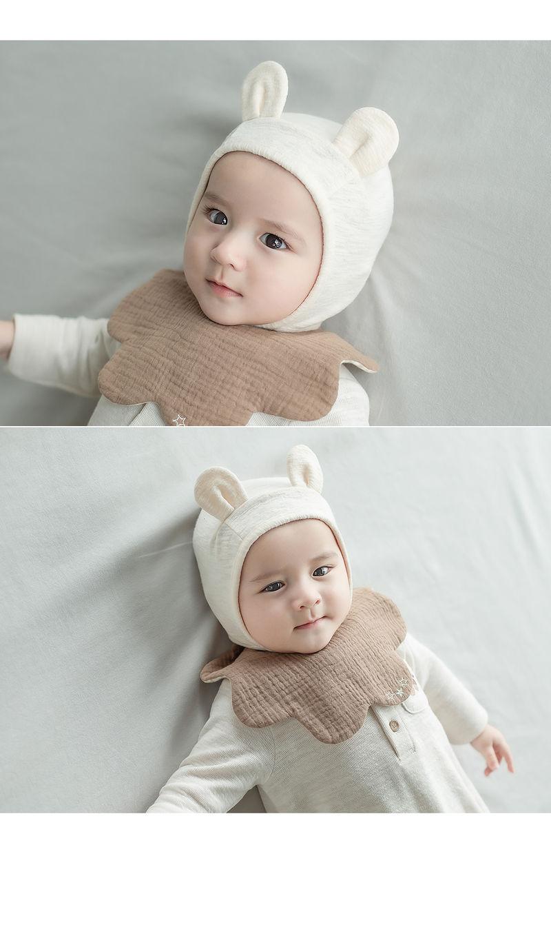 HAPPY PRINCE - Korean Children Fashion - #Kfashion4kids - Bebe Bear Bonnet - 2