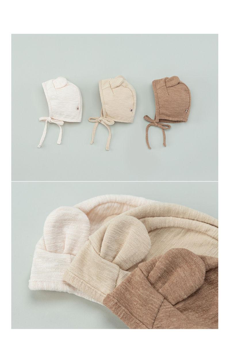 HAPPY PRINCE - Korean Children Fashion - #Kfashion4kids - Bebe Bear Bonnet - 4