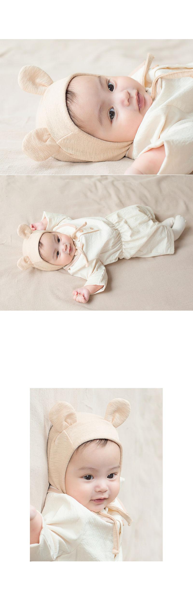 HAPPY PRINCE - Korean Children Fashion - #Kfashion4kids - Bebe Bear Bonnet - 7
