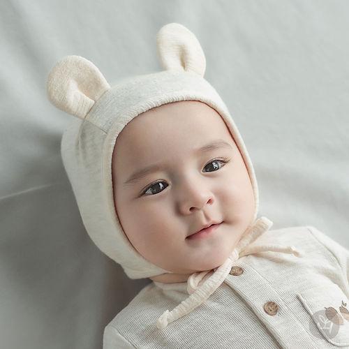 HAPPY PRINCE - BRAND - Korean Children Fashion - #Kfashion4kids - Bebe Bear Bonnet