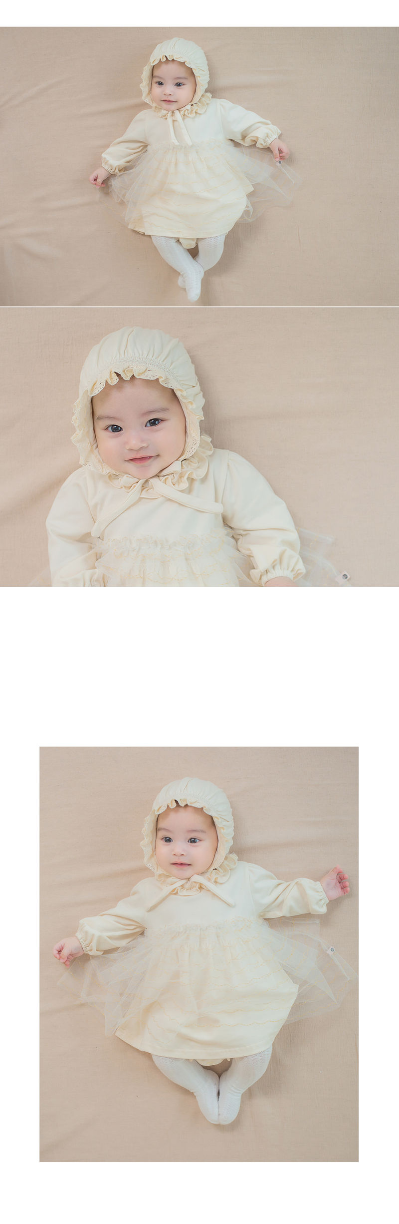 HAPPY PRINCE - Korean Children Fashion - #Kfashion4kids - Ellie Organic Baby Bonnet - 2