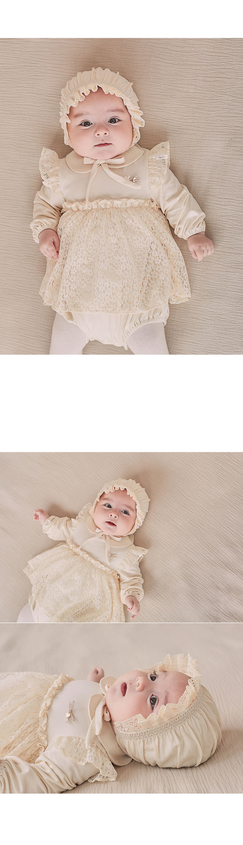 HAPPY PRINCE - Korean Children Fashion - #Kfashion4kids - Ellie Organic Baby Bonnet - 4