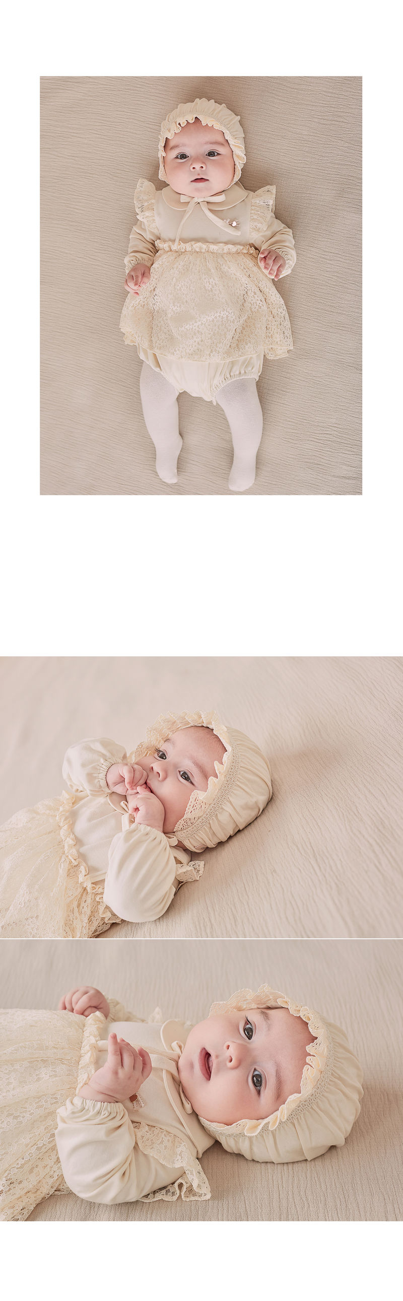 HAPPY PRINCE - Korean Children Fashion - #Kfashion4kids - Ellie Organic Baby Bonnet - 5