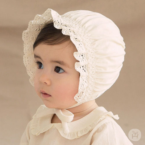 HAPPY PRINCE - BRAND - Korean Children Fashion - #Kfashion4kids - Ellie Organic Baby Bonnet