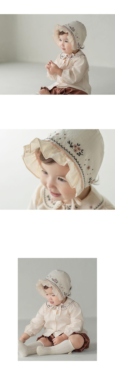 HAPPY PRINCE - Korean Children Fashion - #Kfashion4kids - Renova Baby Bonnet - 2