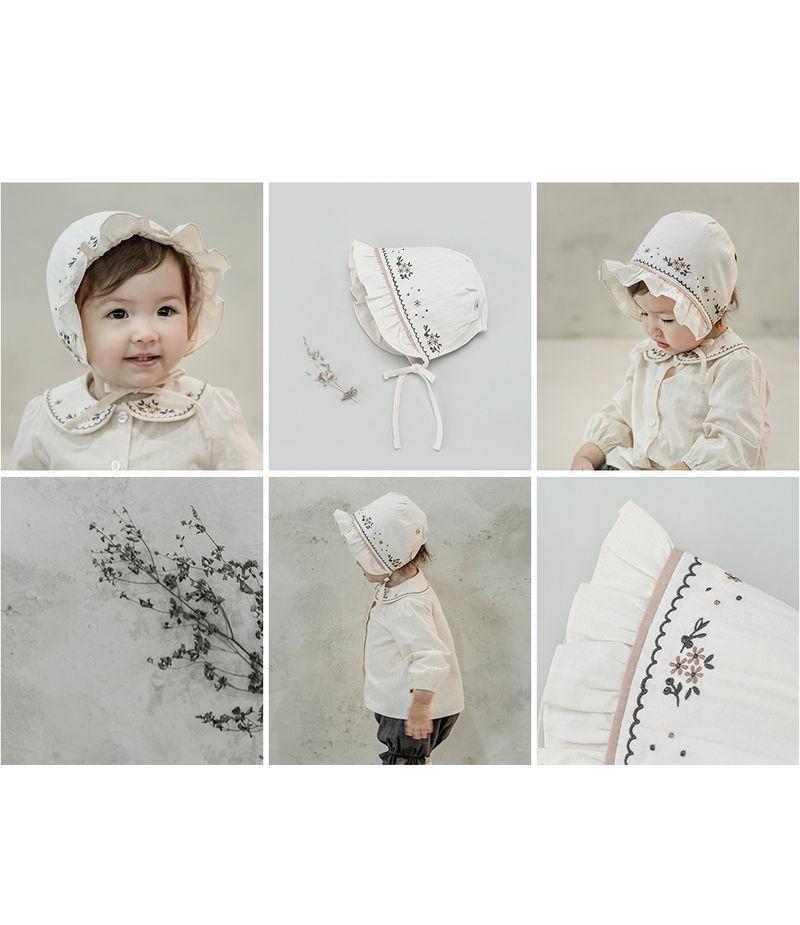 HAPPY PRINCE - Korean Children Fashion - #Kfashion4kids - Renova Baby Bonnet - 3