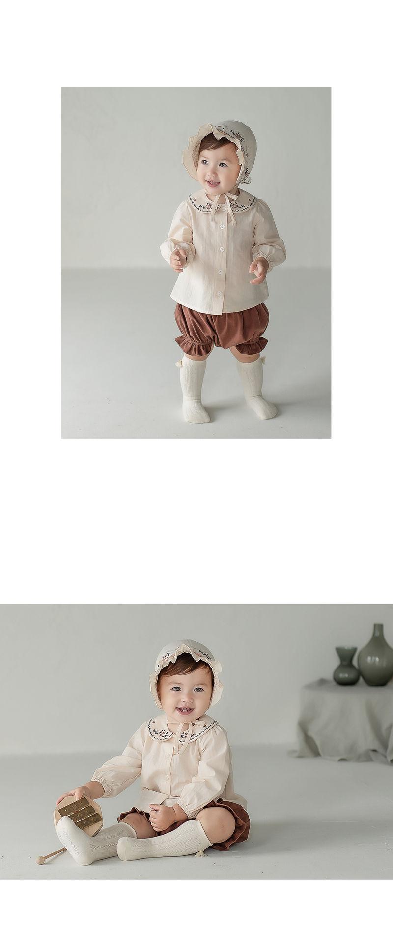 HAPPY PRINCE - Korean Children Fashion - #Kfashion4kids - Renova Baby Bonnet - 4