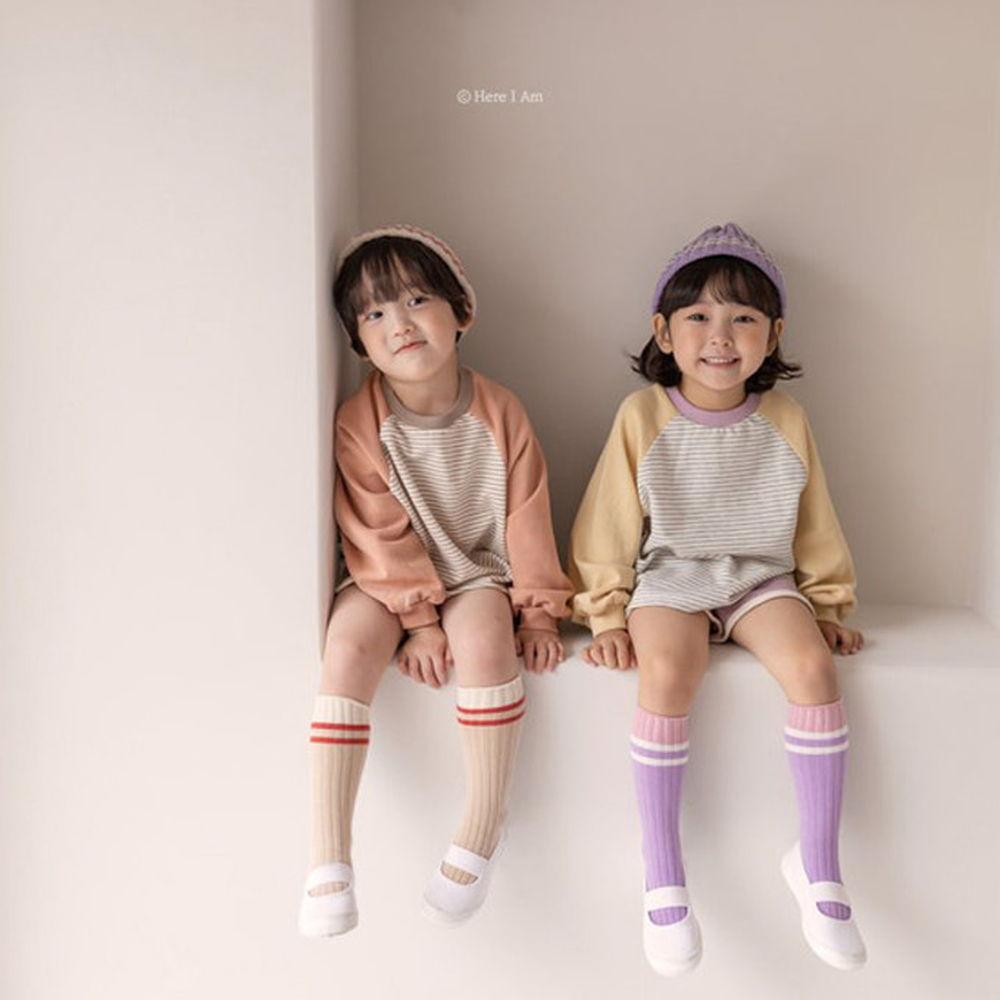 HERE I AM - BRAND - Korean Children Fashion - #Kfashion4kids - Bonny Top Bottom Set