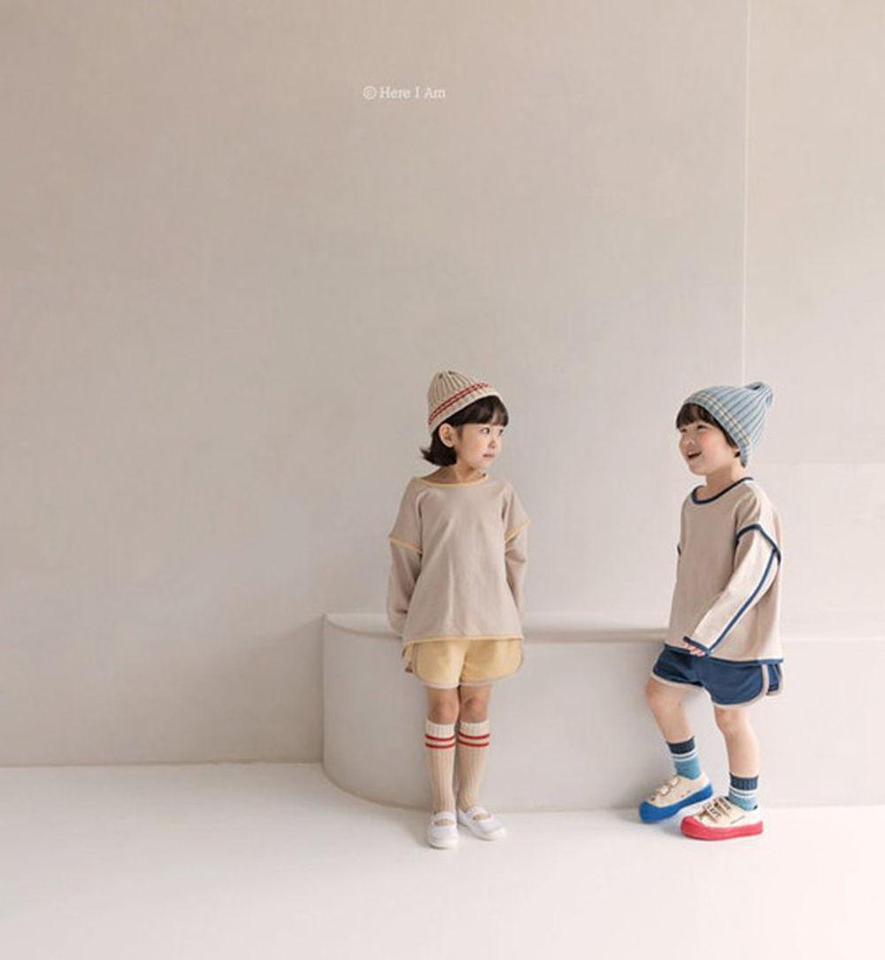 HERE I AM - BRAND - Korean Children Fashion - #Kfashion4kids - Muffin Top Bottom Set