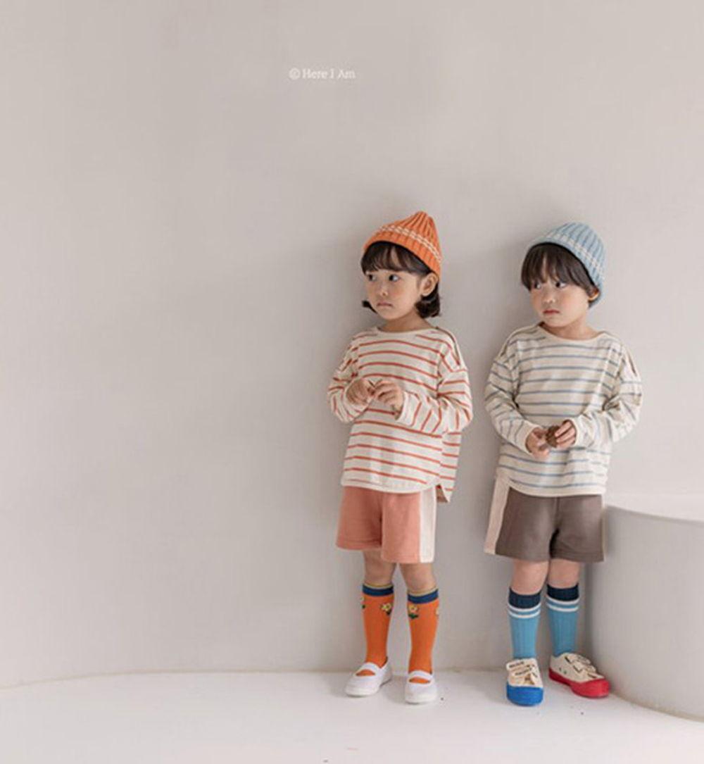 HERE I AM - BRAND - Korean Children Fashion - #Kfashion4kids - Ruby Top Bottom Set