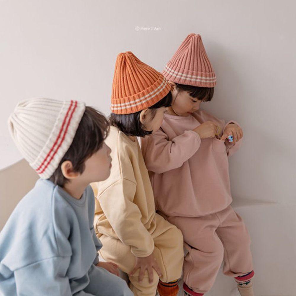 HERE I AM - BRAND - Korean Children Fashion - #Kfashion4kids - Egg Beanie