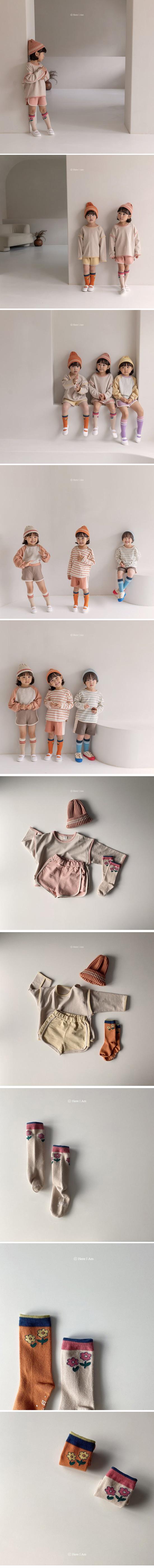 HERE I AM - Korean Children Fashion - #Kfashion4kids - Flare Knee Socks [set of 2] - 2