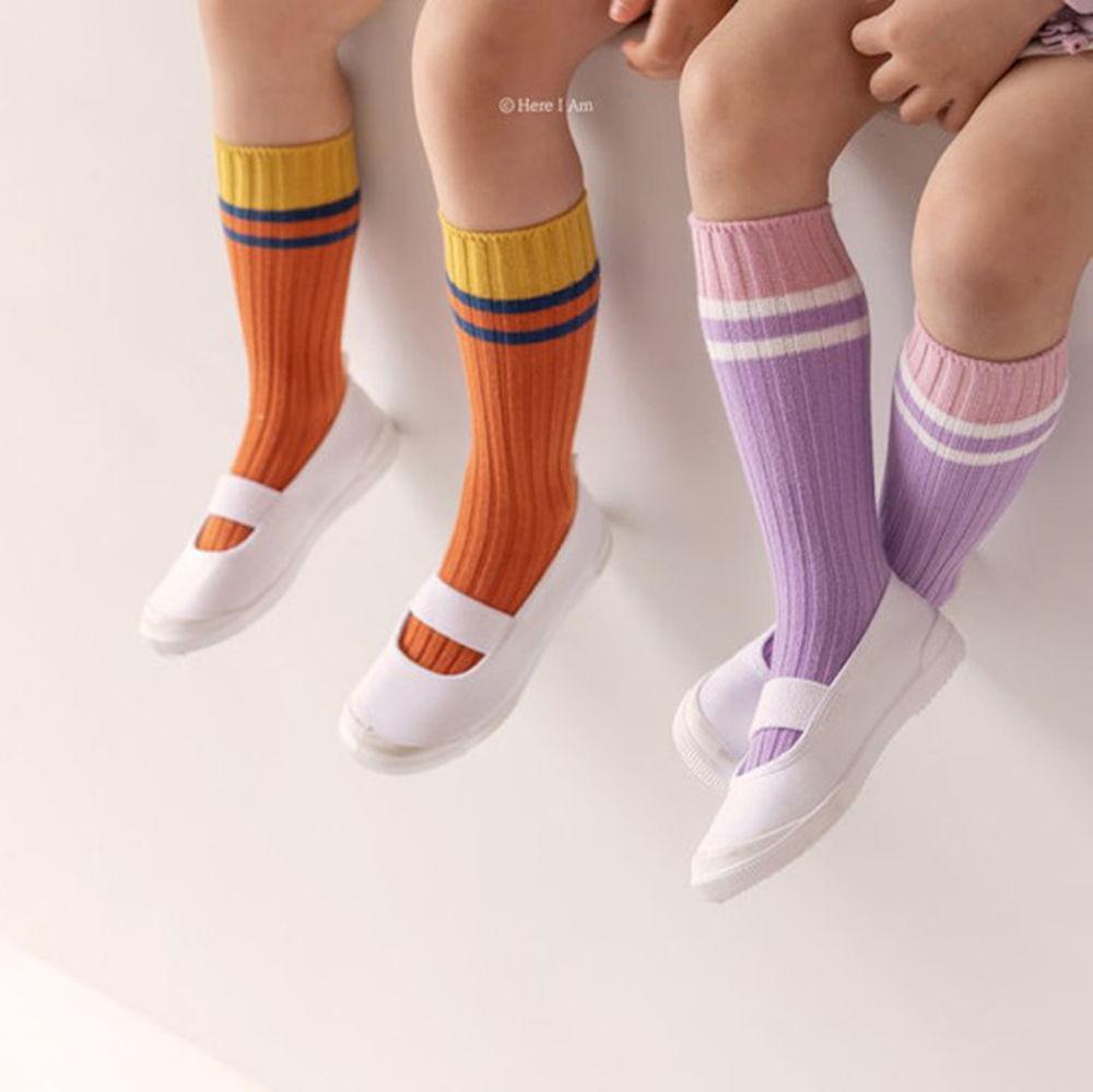 HERE I AM - BRAND - Korean Children Fashion - #Kfashion4kids - Willie Knee Sockcs [set of 2]