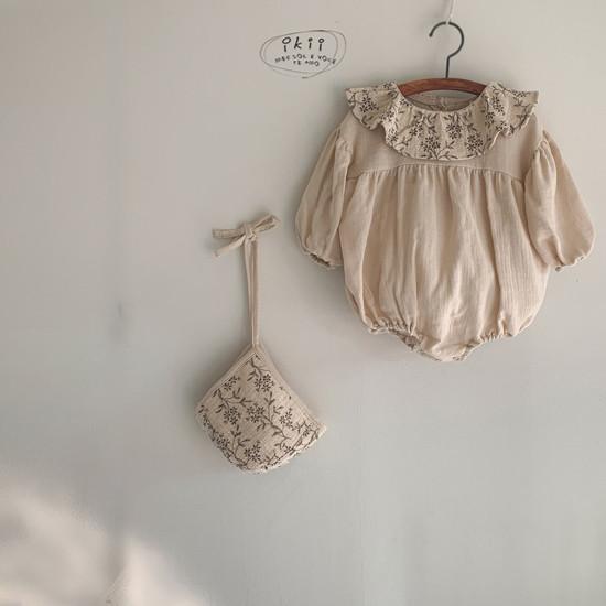 IKII - Korean Children Fashion - #Kfashion4kids - Piory Romper with Hat