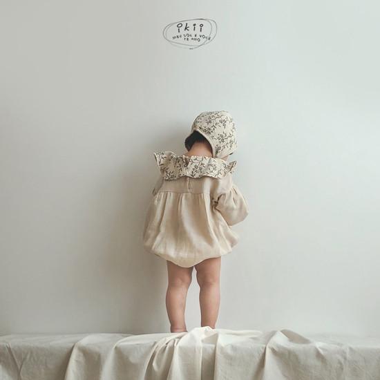 IKII - Korean Children Fashion - #Kfashion4kids - Piory Romper with Hat - 2