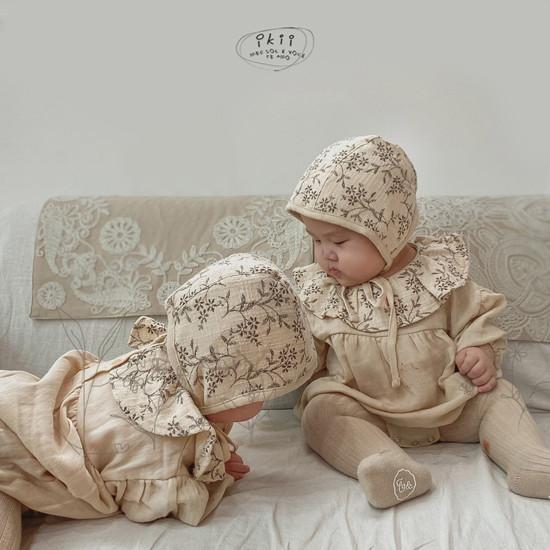 IKII - Korean Children Fashion - #Kfashion4kids - Piory Romper with Hat - 3