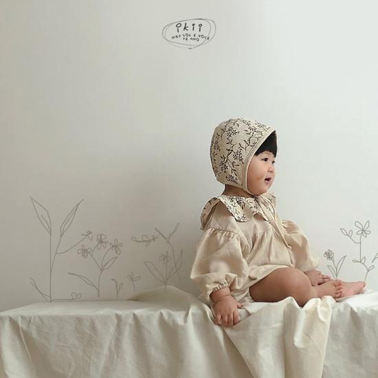 IKII - Korean Children Fashion - #Kfashion4kids - Piory Romper with Hat - 7