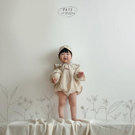 IKII - Korean Children Fashion - #Kfashion4kids - Piory Romper with Hat - 9