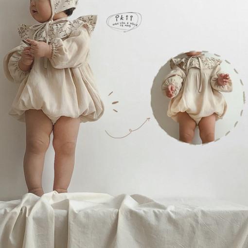 IKII - BRAND - Korean Children Fashion - #Kfashion4kids - Piory Romper with Hat