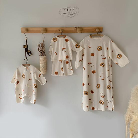 IKII - Korean Children Fashion - #Kfashion4kids - Adult Pumpkin One-piece