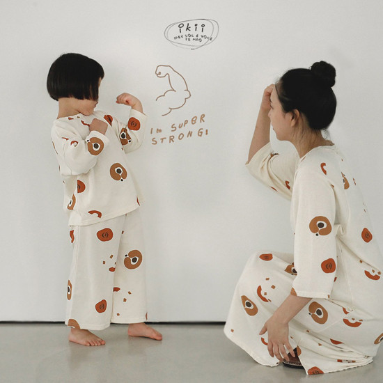 IKII - Korean Children Fashion - #Kfashion4kids - Adult Pumpkin One-piece - 4