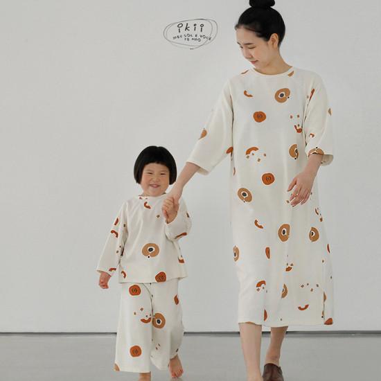 IKII - Korean Children Fashion - #Kfashion4kids - Adult Pumpkin One-piece - 5