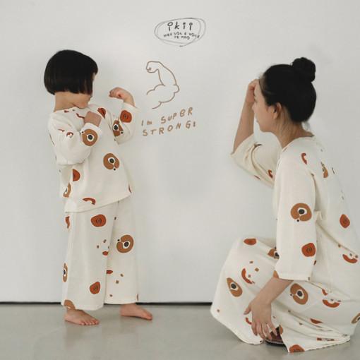IKII - BRAND - Korean Children Fashion - #Kfashion4kids - Adult Pumpkin One-piece