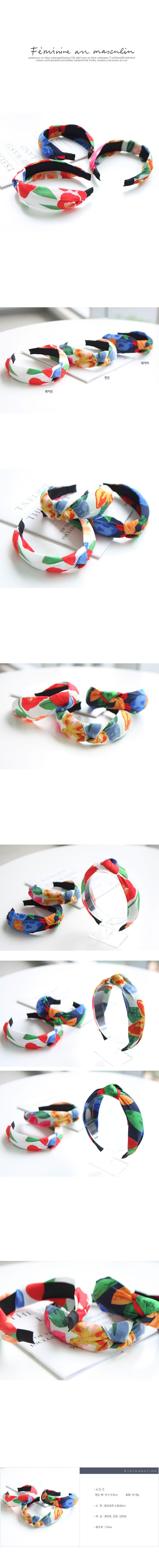 JIREH BOW - Korean Children Fashion - #Kfashion4kids - Retro Hairband [set of 3]