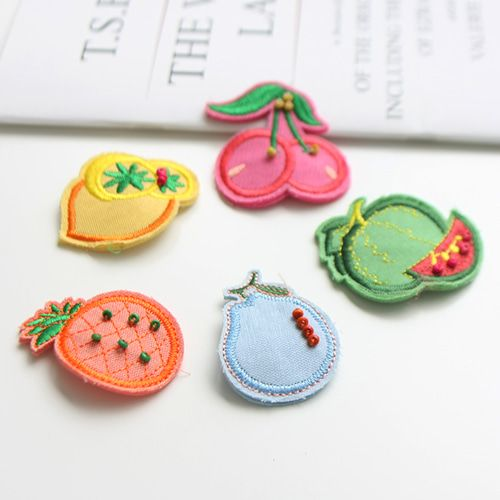 JIREH BOW - BRAND - Korean Children Fashion - #Kfashion4kids - Fruit Store Hairppin [set of 5]
