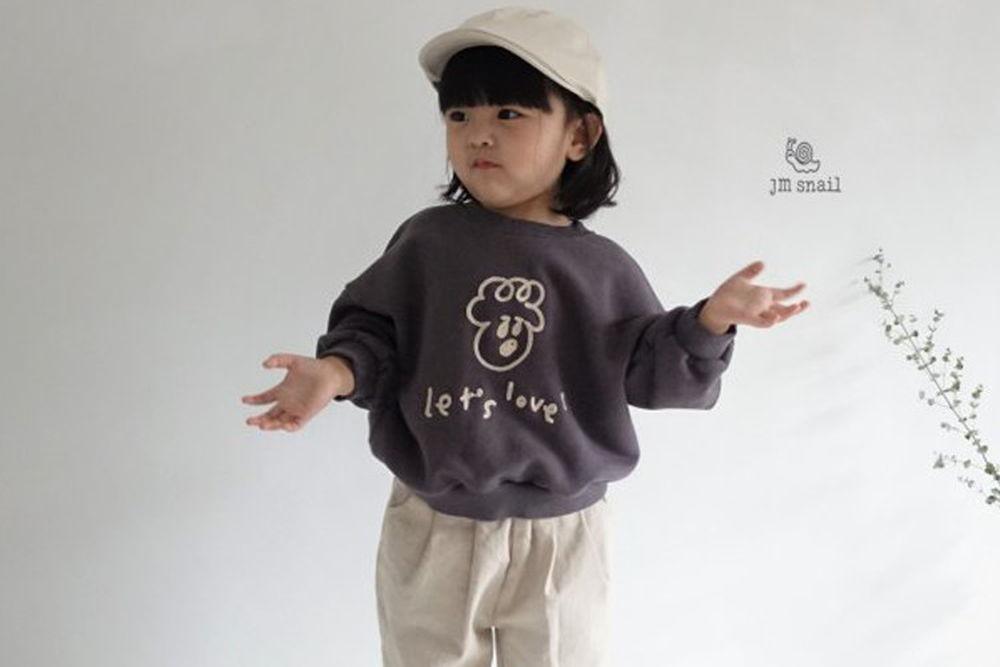 JM SNAIL - BRAND - Korean Children Fashion - #Kfashion4kids - Love Chain MTM