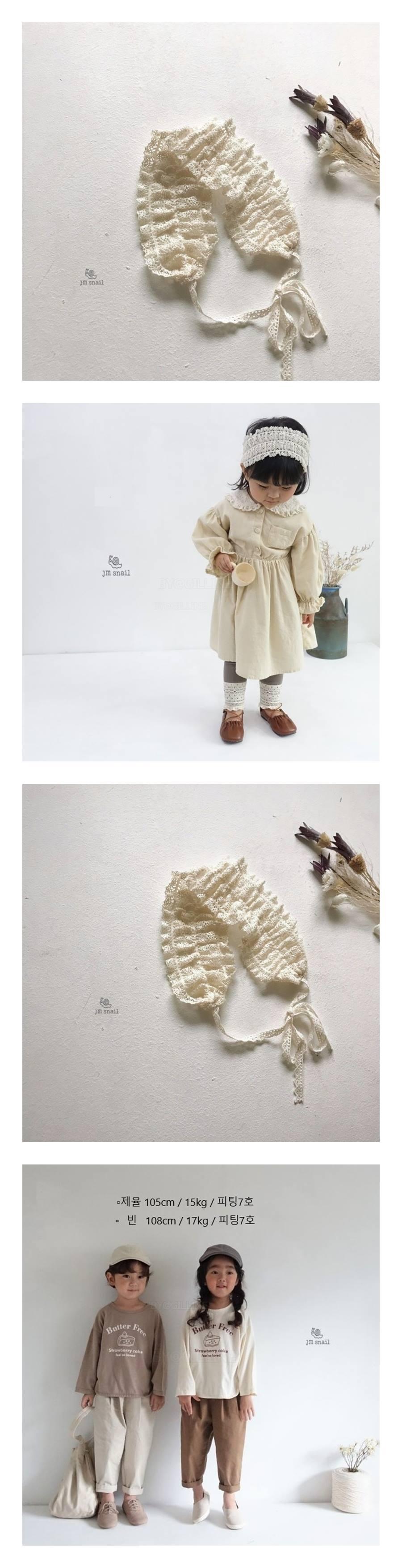 JM SNAIL - Korean Children Fashion - #Kfashion4kids - Lace Hairband