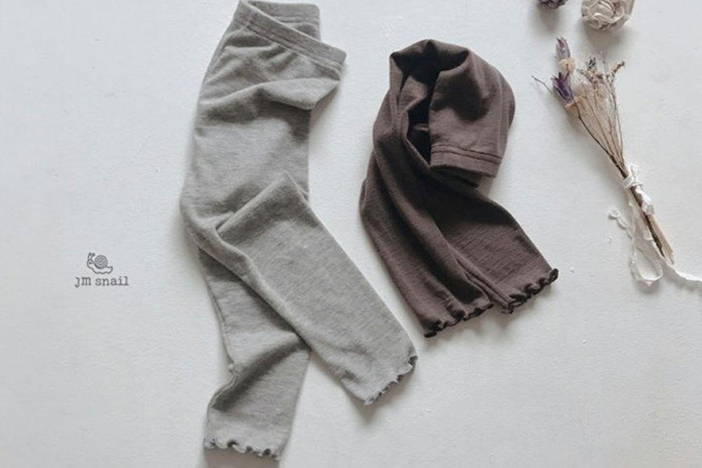 JM SNAIL - BRAND - Korean Children Fashion - #Kfashion4kids - Macaron Leggings