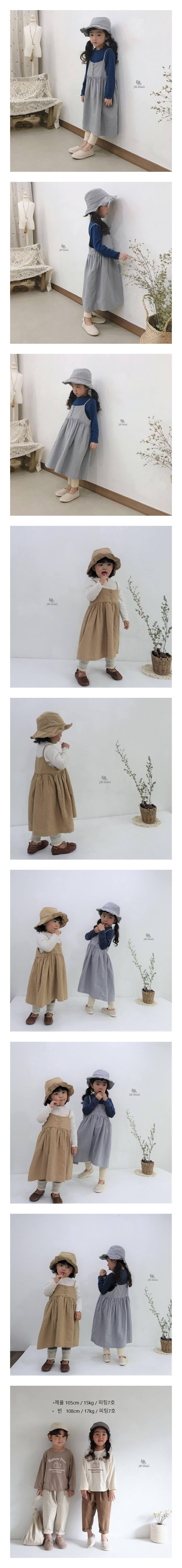 JM SNAIL - Korean Children Fashion - #Kfashion4kids - Anna Vest One-piece