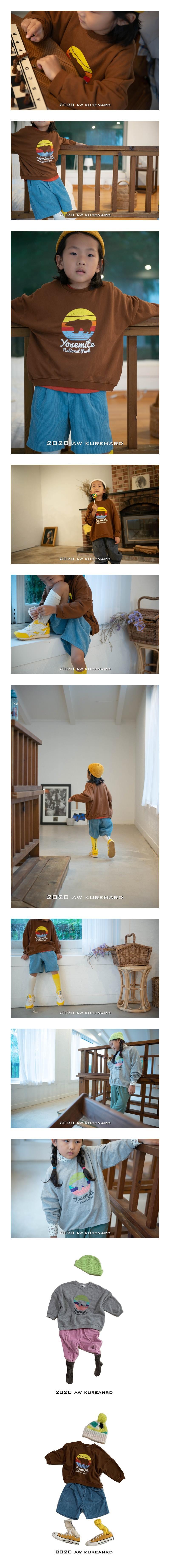 KURENARD - Korean Children Fashion - #Kfashion4kids - Bear MTM