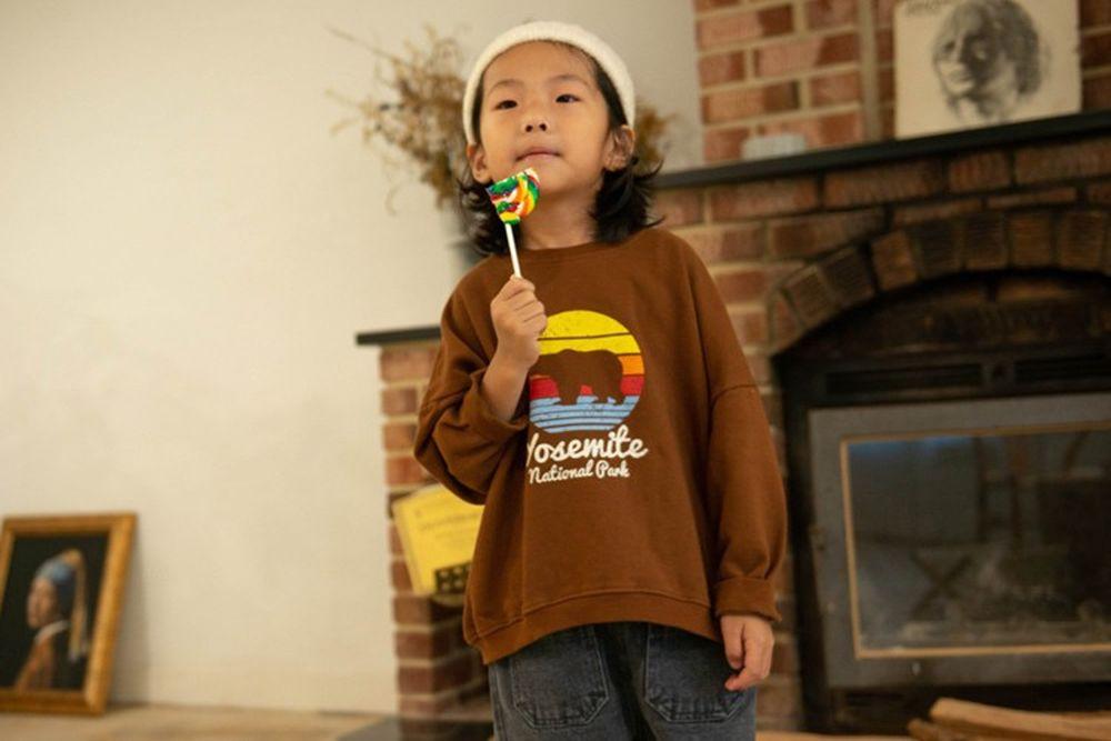 KURENARD - BRAND - Korean Children Fashion - #Kfashion4kids - Bear MTM
