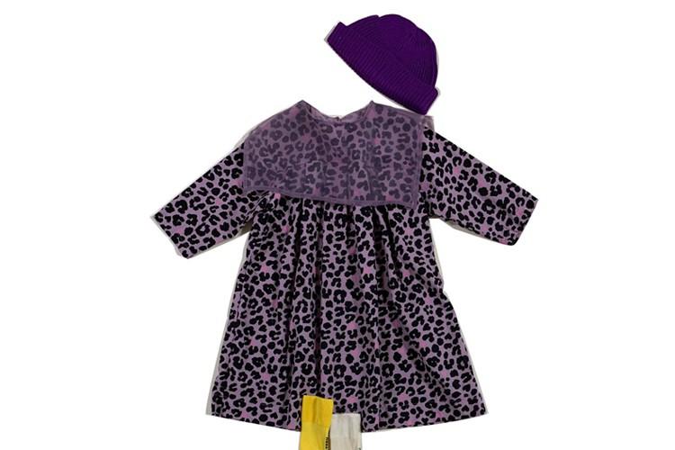 KURENARD - BRAND - Korean Children Fashion - #Kfashion4kids - Black Pink One-piece