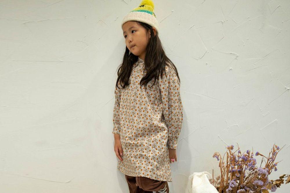 KURENARD - BRAND - Korean Children Fashion - #Kfashion4kids - Flower Mini One-piece