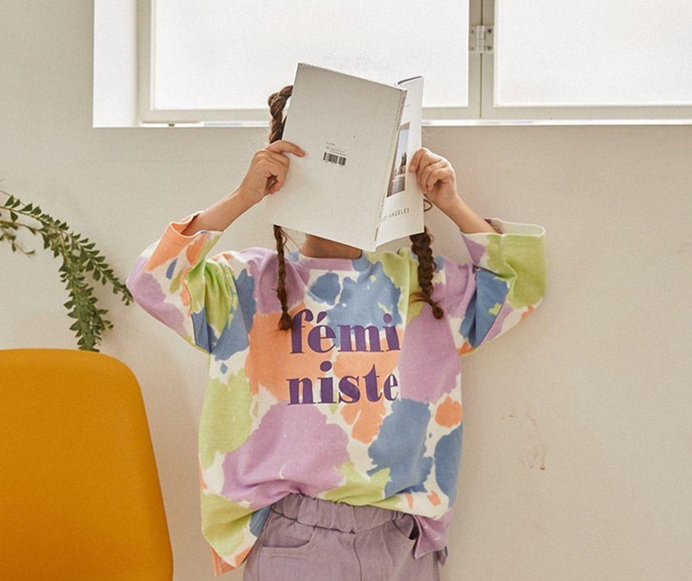 LILAS - Korean Children Fashion - #Kfashion4kids - Get It Long Tee