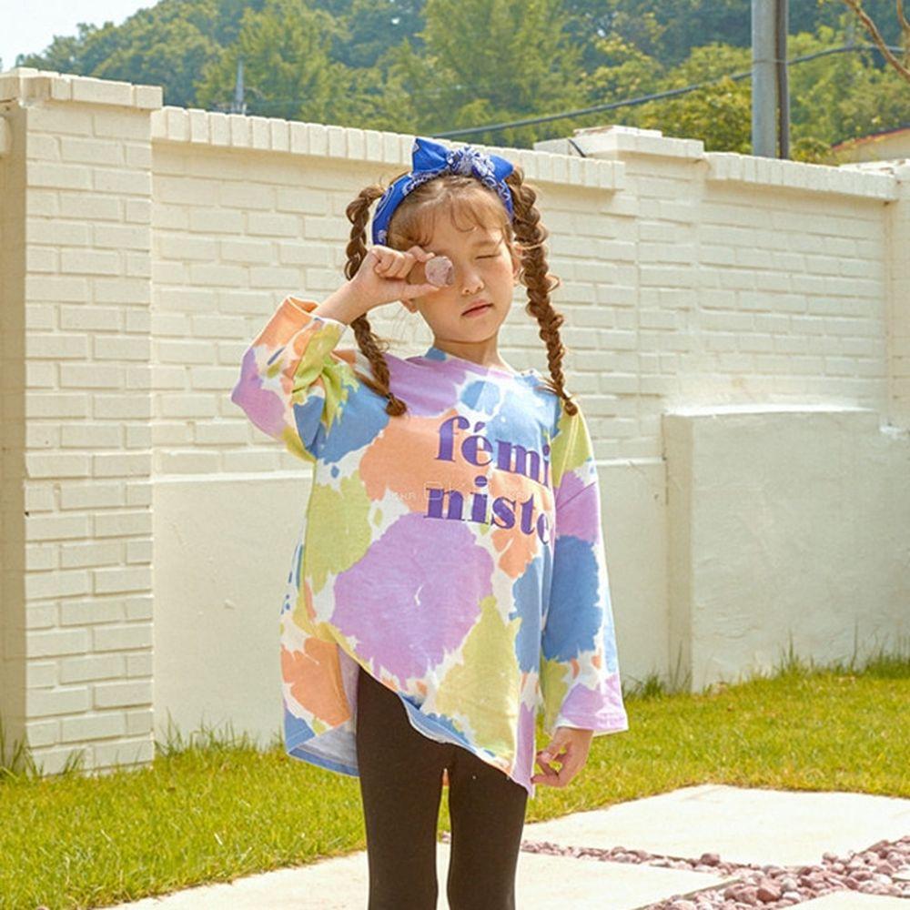 LILAS - BRAND - Korean Children Fashion - #Kfashion4kids - Get It Long Tee