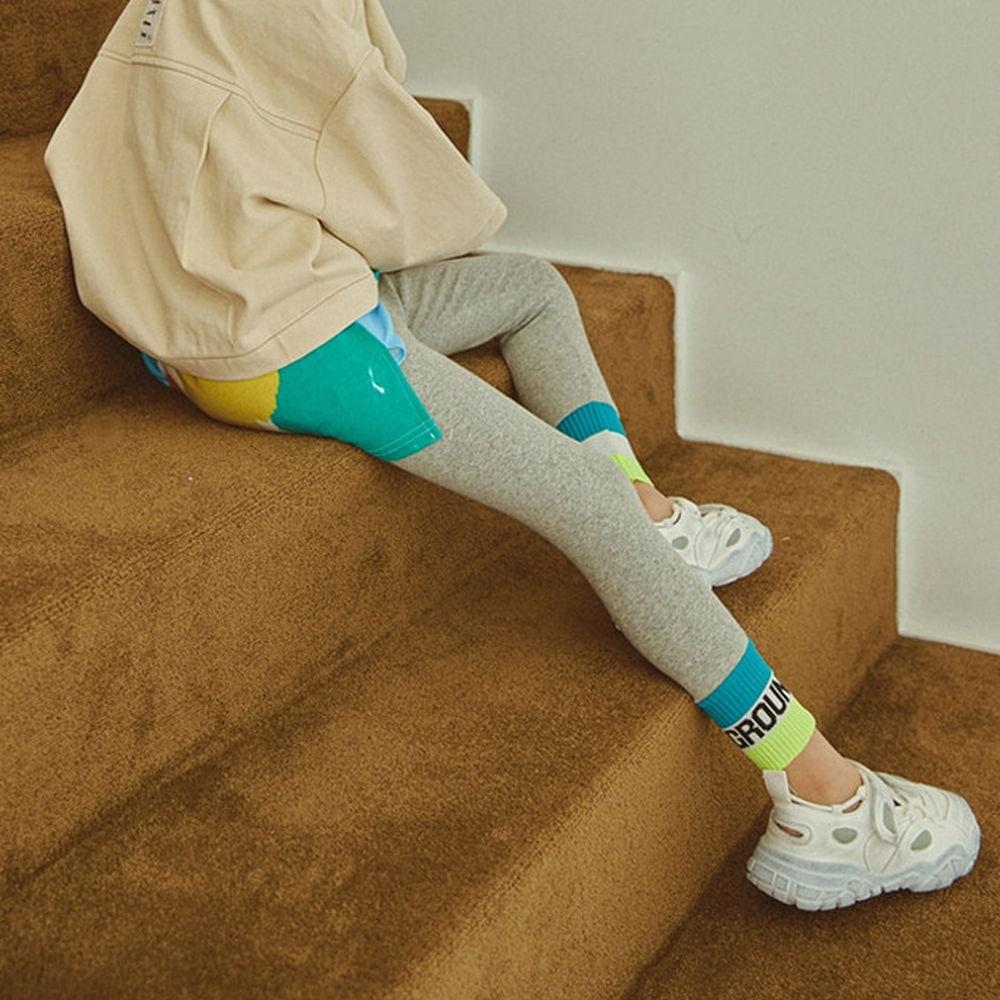 LILAS - BRAND - Korean Children Fashion - #Kfashion4kids - Ground Banding Leggings