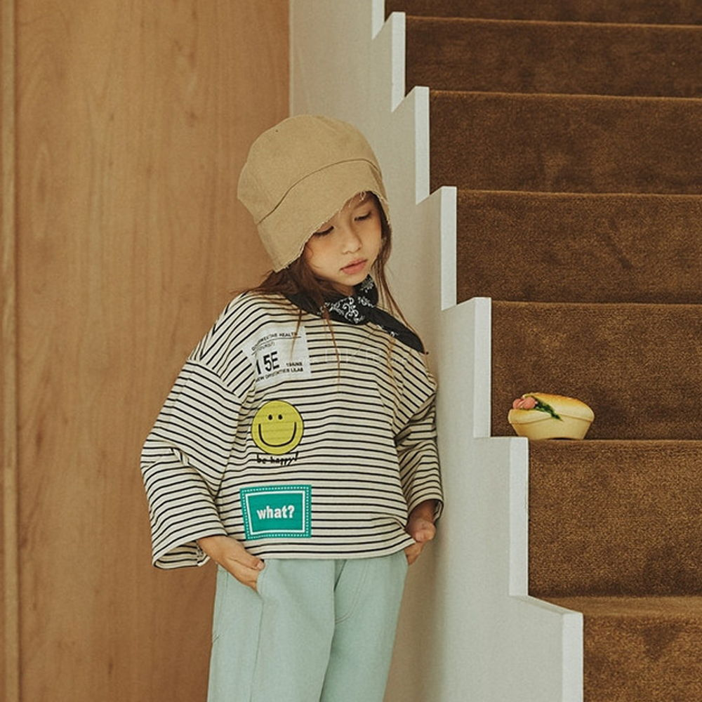 LILAS - BRAND - Korean Children Fashion - #Kfashion4kids - Layered Crop Tee