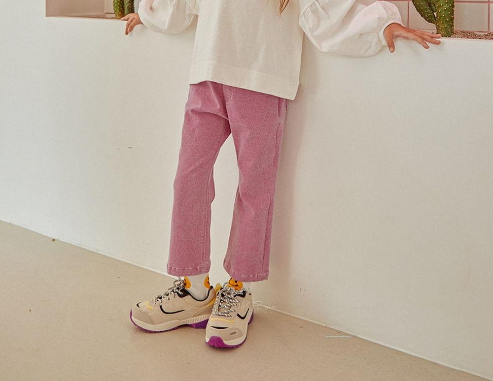 LILAS - Korean Children Fashion - #Kfashion4kids - Macaron Bootscut Pants