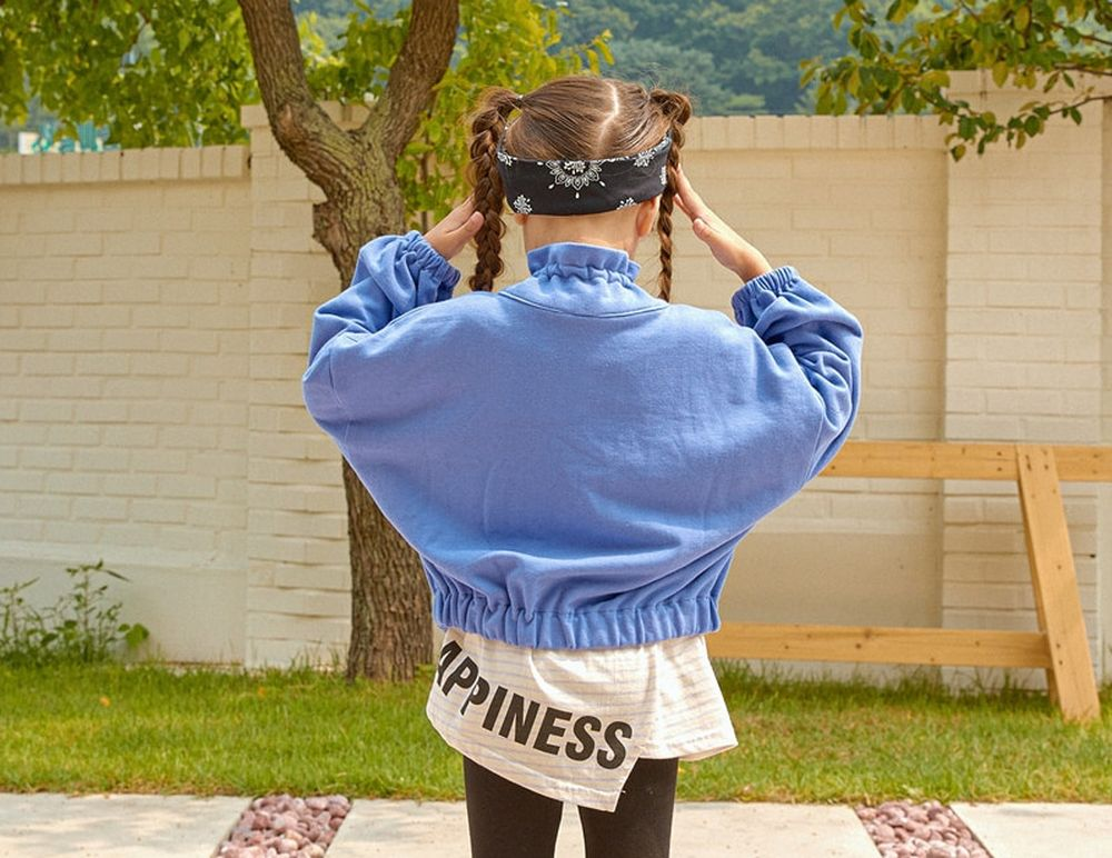 LILAS - Korean Children Fashion - #Kfashion4kids - Minimal Denim Jacket