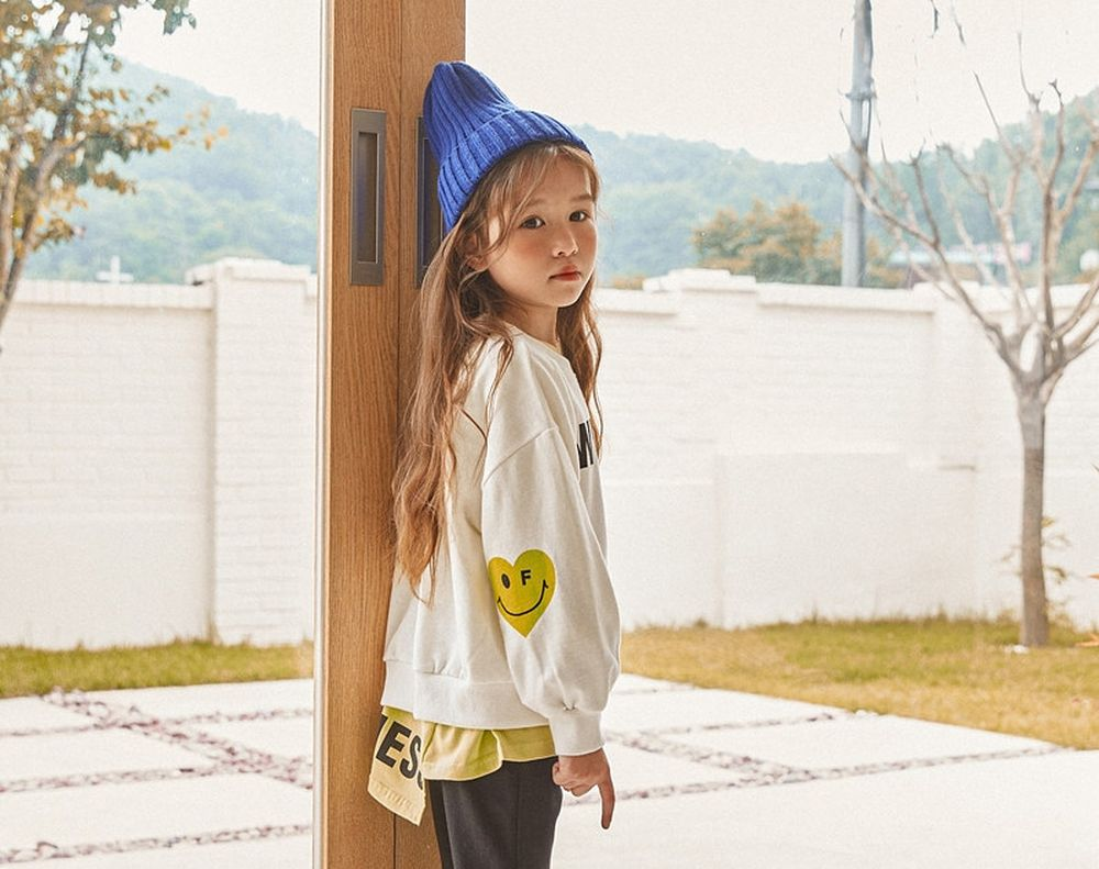LILAS - Korean Children Fashion - #Kfashion4kids - Heart MTM