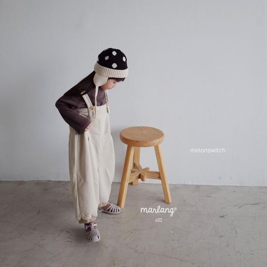 MELONSWITCH - Korean Children Fashion - #Kfashion4kids - Soft Suspender Pants