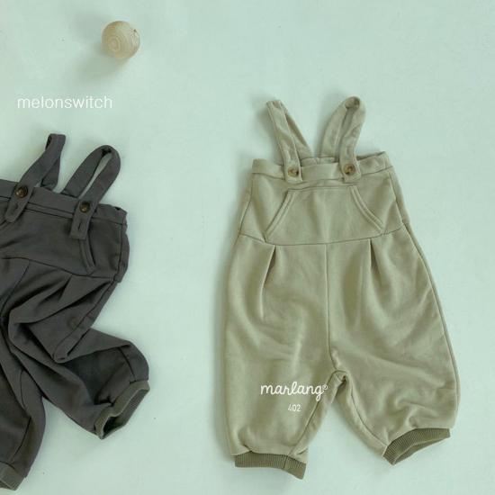 MELONSWITCH - Korean Children Fashion - #Kfashion4kids - Soft Suspender Pants - 10