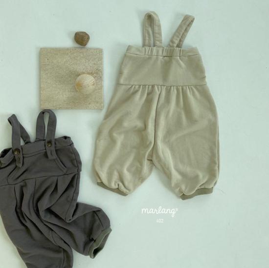 MELONSWITCH - Korean Children Fashion - #Kfashion4kids - Soft Suspender Pants - 11